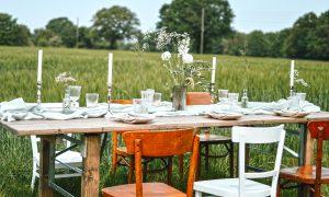 Verleih von Hochzeitsdekoration in NRW